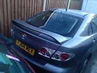 Mazda 6 why spares or repair