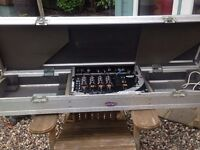 Coffin Flight Case with Gemini Ps-700 Mixer