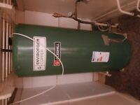 Gledhill envirofoam copper hot water cylinder with immersion fitted