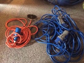 large electric hook up and large extension very good condition