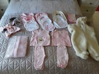 BRAND NEW BABY GIRL CLOTHES