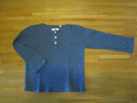 blue jumper, size 6 year/116cm, NEXT