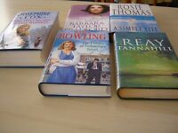 5 Hard Backed Novels