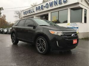 2014 Ford Edge SEL AWD...Ford Credit Lease Return, Only 26K, App