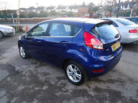 20142014FORD FIESTA 1.0TURBO ECHOBOOST ZETTEC ONLY 7K 0%TAX FULL FORD HISTORY 6 NATINWIDE WARRANTY