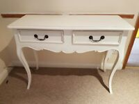 Painted dressing table.