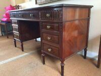 Antique Gillows double pedestle desk