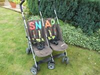 """COSATTO """"SNAP"""" DOUBLE BUGGY"""