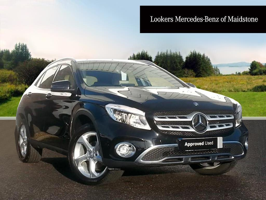 mercedes benz gla class gla 200 d sport executive black 2017 04 07 in maidstone kent gumtree. Black Bedroom Furniture Sets. Home Design Ideas