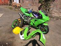 Kawasaki Ninja zx6r g2 - track bike