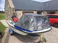 Orkney boat coast liner folding dodger, wheelhouse, pram hood style, with full fitting kit.