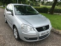 2009 09 Volkswagen polo 1.2 match only £1395