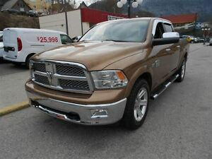 2012 Ram 1500 lONGHORN, LEATHER, REAR DVD, SUNROOF