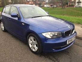 2010 BMW 1 SERIES 118 SE 2.0L DIESEL 5DOOR ONE FORMER KEEPER FULL SERVICE HISTORY £30 ROAD TAX