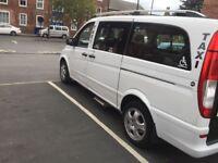 Mercedes Vito taxi converted