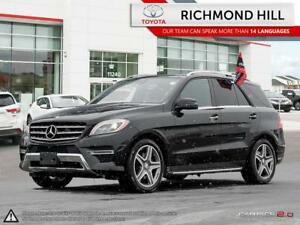 2015 mercedes benz M-Class ML350 4MATIC BLU|Dual Moonroof|Naviga