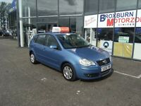 2006 06 VOLKSWAGEN POLO 1.2 S 5d 63 BHP **** GUARANTEED FINANCE ****