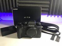 Fuji X-T2 Mirrorless Digital Camera (Fujifilm XT2)