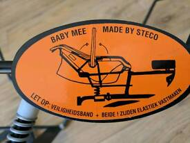 Baby Mee maxi cosi car seat adapter for cargo bike