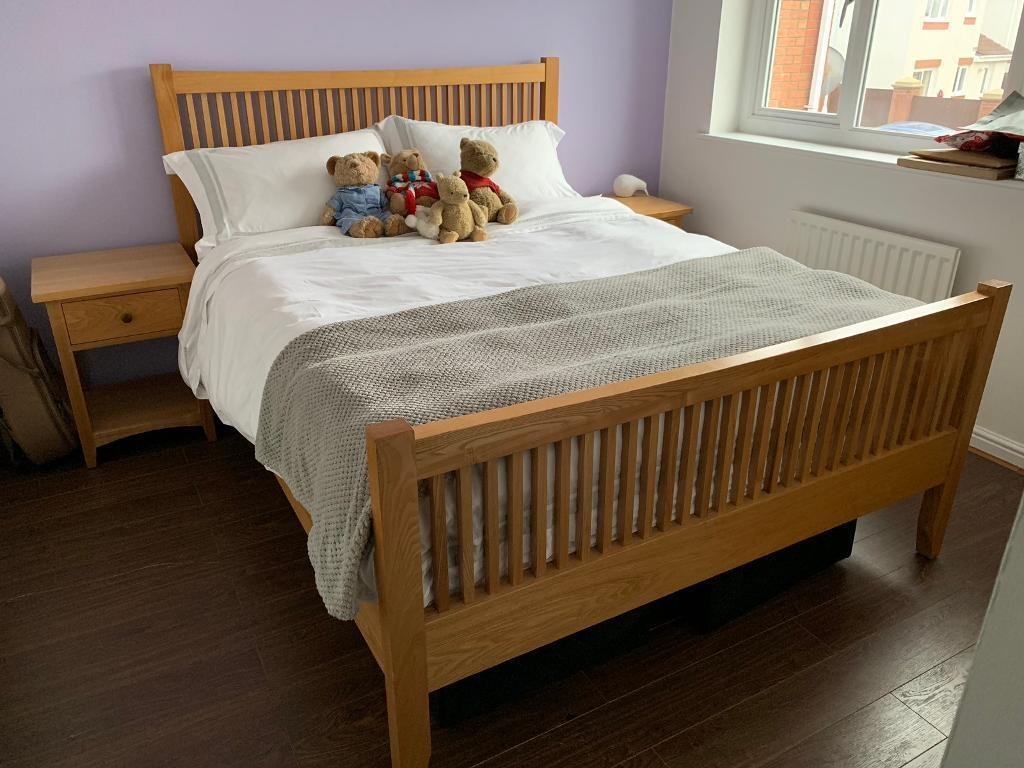 Solid wood, king size bed frame (Studio 1) | in ...