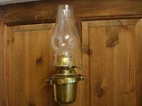 ANTIQUE MARINERS BOAT BARGE GIMBLE LAMP