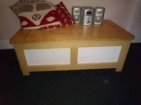 Ikea storage coffee table