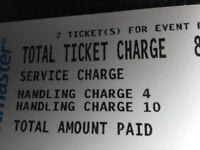 Mrs brown x2 tickets
