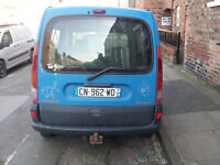 LHD Left hand drive Renault Kangoo 1.9 diesel French Reg. 1998