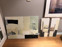 SET OF 3 - LIVING ROOM PICTURES - GREAT CONDITION