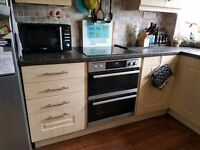 Light Oak Effect Kitchen