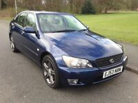 2004 Lexus IS200 2.0 SE Automatic Great Condition For Age MOT June 2017 Offers Invited