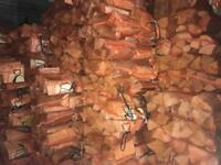 Logs for wood stoves