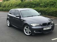 2008 BMW 1 SERIES 118D M SPORT *£30 TAX YEAR*