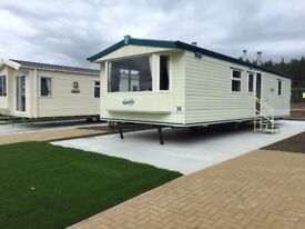 Ideal first time buyers holiday caravan for sale at Witton Castle, Co Durham. Atlas Everglade.