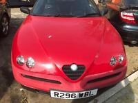 1998 Alfa Romeo Spider 2.0 T Spark SPARES / REPAIRS
