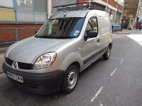 2007 RENAULT KANGOO 15DCI CAR DERIVED VAN YEAR MOT LOW MILES PANEL VAN ROOF RACK PLY LINE VGC