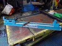 Black & Decker drill stand & wood turning attachment