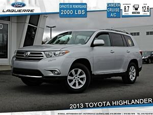 2013 Toyota Highlander **V6*7 PASSAGERS*CAMERA*CRUISE*A/C**