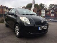 TOYOTA YARIS 1.3 2009 BLACK MANUAL 5DR **EXCELLENT CONDITION**FIRST TO SEE WILL BUY**
