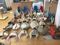 HUGE JOB LOT OF MOTORBIKE FIBREGLASS (GRP) RACE FAIRING AND BODYWORK MOULDS, GREAT BUSINESS