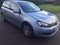 VOLKSWAGEN GOLF 1.6 TDI SE 5 DR. ONE OWNER IN MINT CONDITION WITH FULL SERVICE HISTORY & NEW MOT.