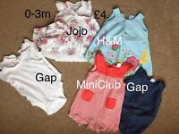 0-3m girls' clothes