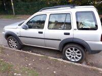 Landrover freelander td4 diesal auto