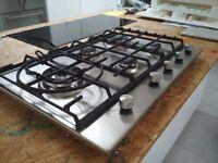 Stainless Steel 5 ring gas hob Ikea Framtid HGA5K