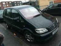 Vauxhall Zafira 1.6 7 Seater Call 07448125171