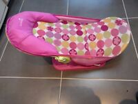 baby bath seat for sale used twice