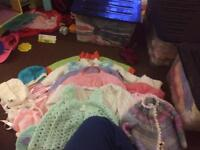 Knitted clothes 3-12 months