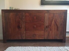Dakota Mango Solid Wood Sideboard