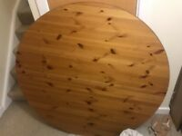 Extendable Ikea Dining Table & 4 Chairs