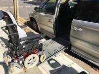Chrysler Grand Voyager Ltd XS 3.3 Petrol Side Ramp WAV wheelchair accessible Entervan